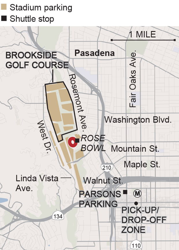 Florida State Fairgrounds Map.Rose Bowl Game Information Baltimore Sun