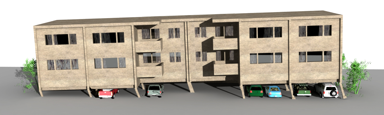 Why wood apartments can collapse in earthquakes