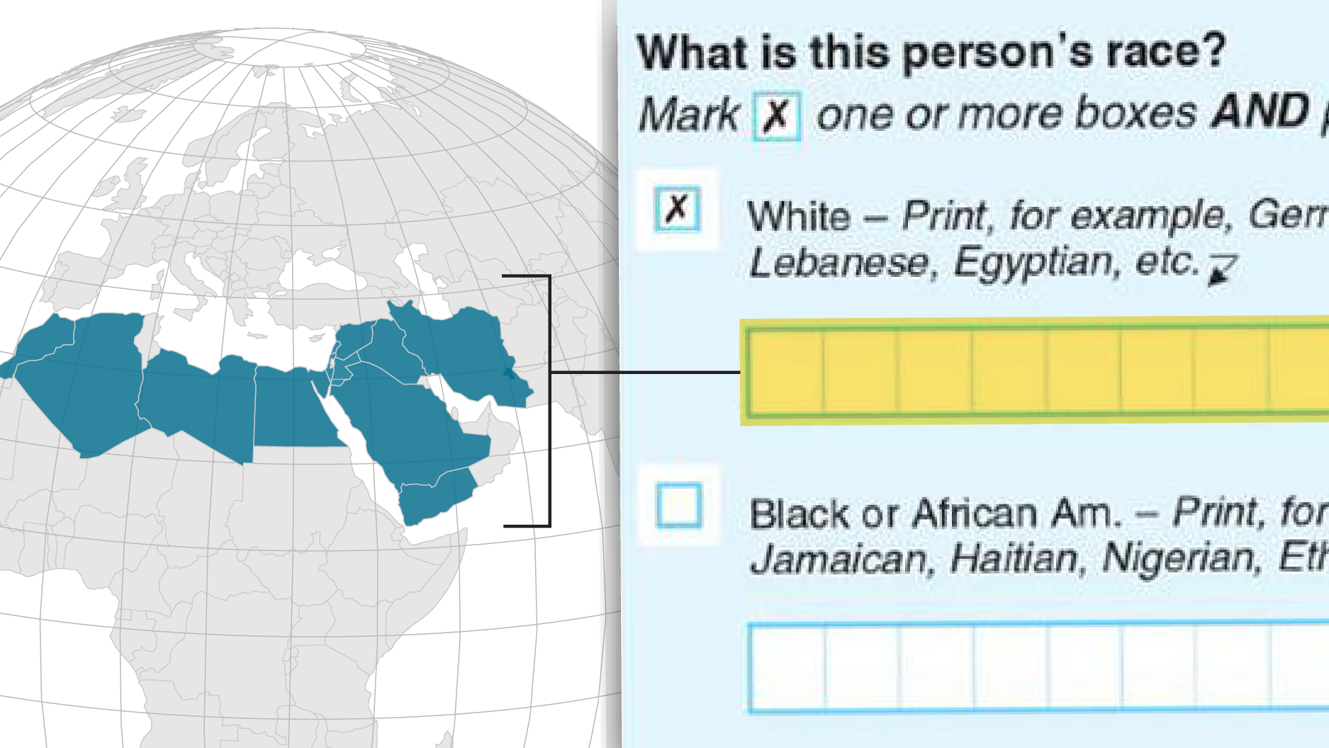 Are Arabs and Iranians white? Census says yes, but many
